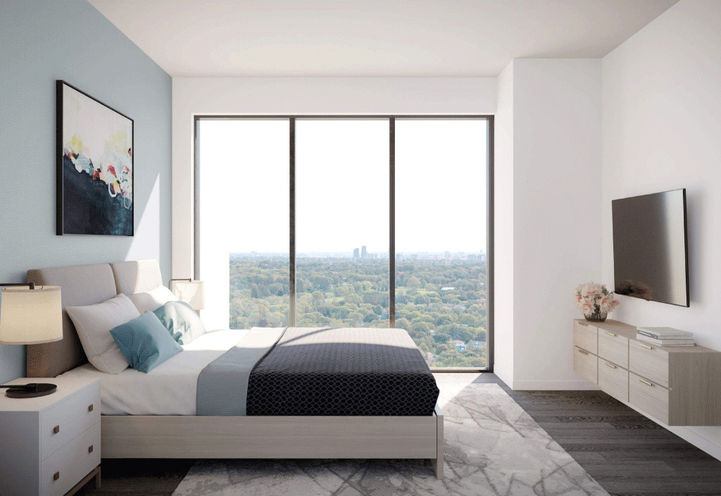 Suite Bedroom at Notting Hill Condos