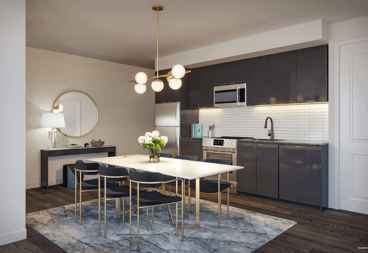 Kitchen at Notting Hill Condos