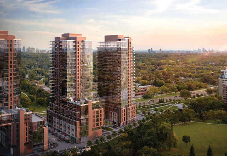 Notting Hill Condos at Eglinton Ave West & Royal York Blvd