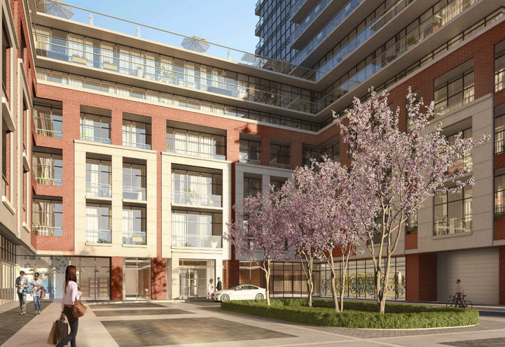 Resident Entrance at Notting Hill Condos