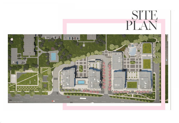 Site Plan by Lanterra Developments
