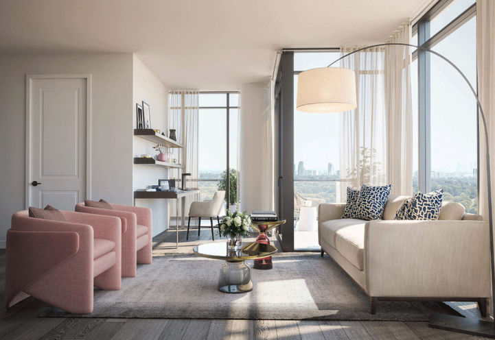 Suite Interior at Notting Hill Condos
