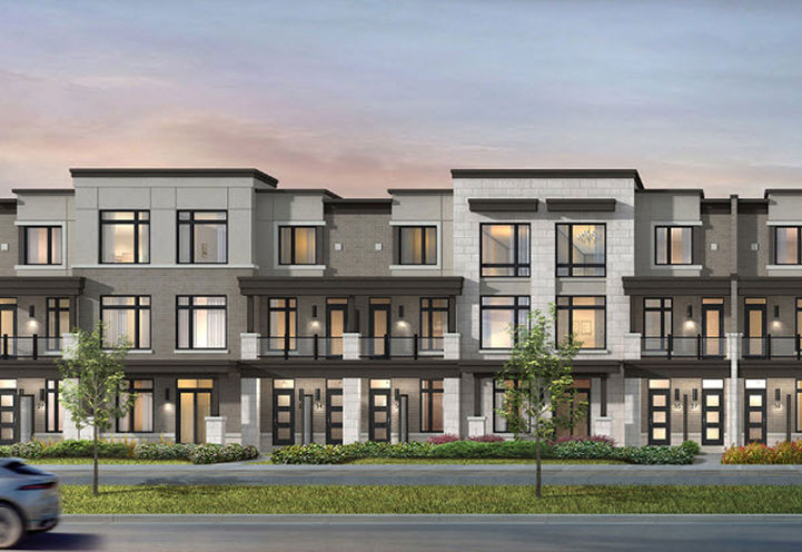 A Collection of Urban & Traditional Town Homes in Pickering- Nu Towns