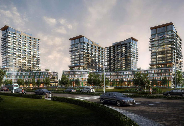 Oak & Co Condos by Cortel Group on Trafalgar Rd