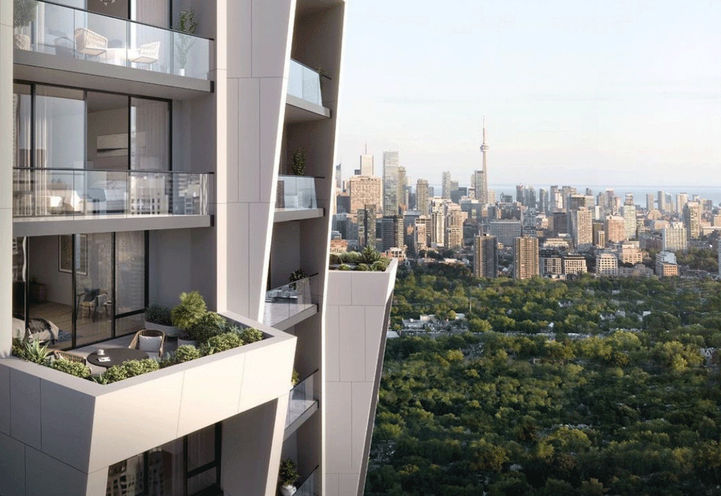 Crown of One Delisle Condos by Slate Asset Management