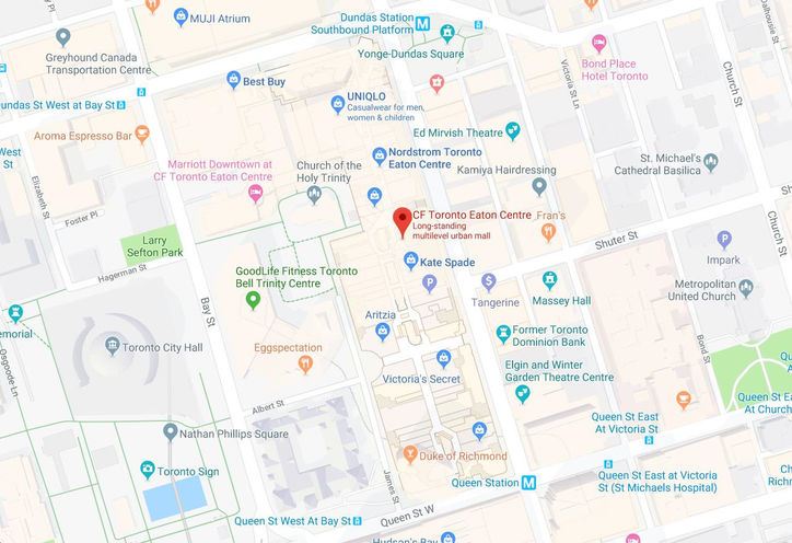 Eaton Centre Toronto New Condos