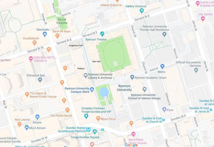 Toronto New Condos by Ryerson University