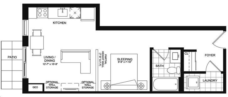 Parkcity Condominiums By Tobyn Park Kew Gardens Floorplan