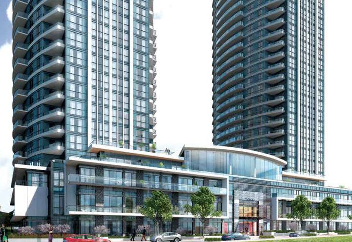 Perla Towers Uptown Pinnacles New Mississauga Condo
