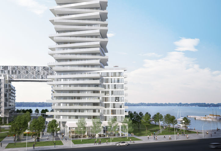 Pier 27 Tower Building Rendering South
