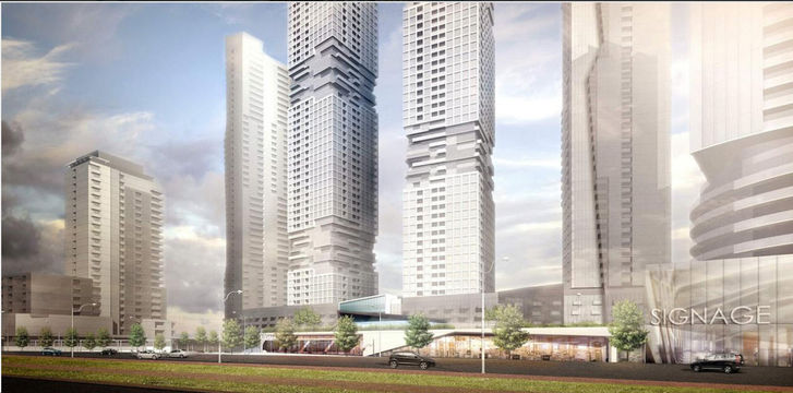 Pinnacle Etobicoke Condos 2 Early Rendering