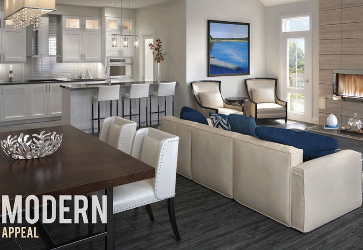 Suite Interior at Prince George Landing Towns