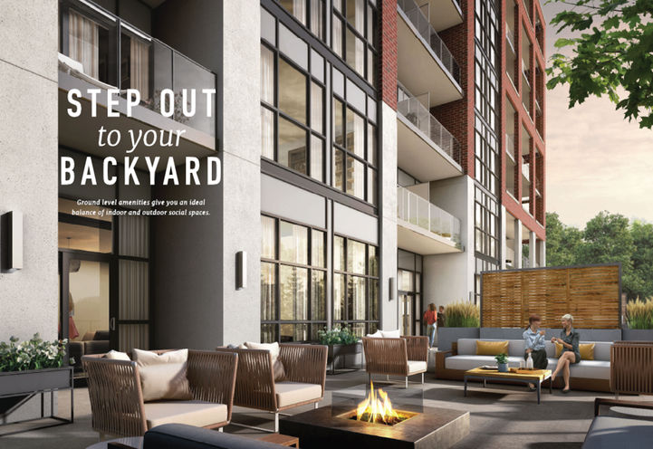 Outdoor Social Places at Queensview at Backyard