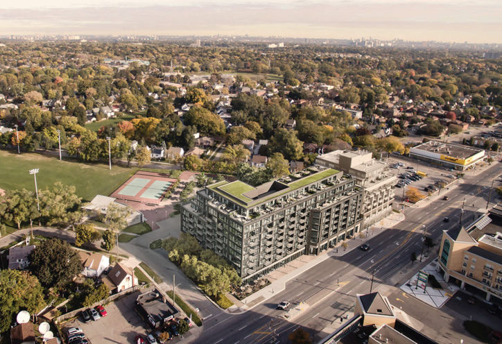 Queensway Park Condos on Royal York Rd & The Queensway