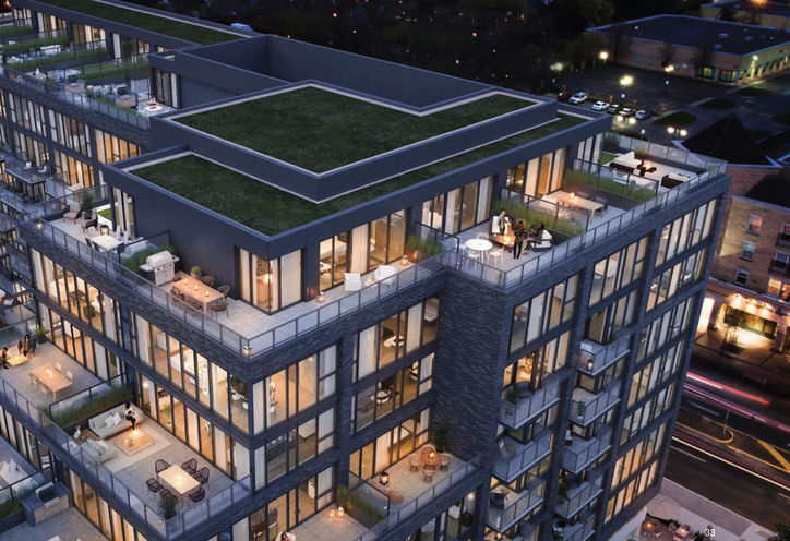 Rooftop Overview, Queensway Park Condos