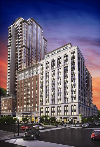 Residences of Royal Connaught Initial Rendering