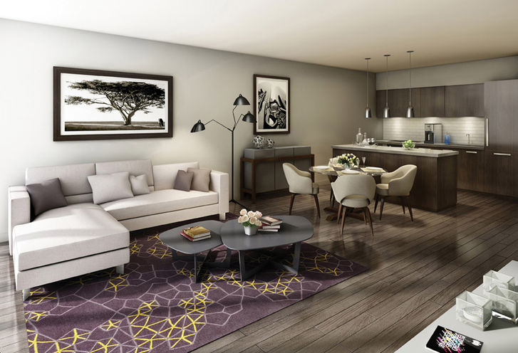 Interior Features and Finishes of Suites at Rise Condo