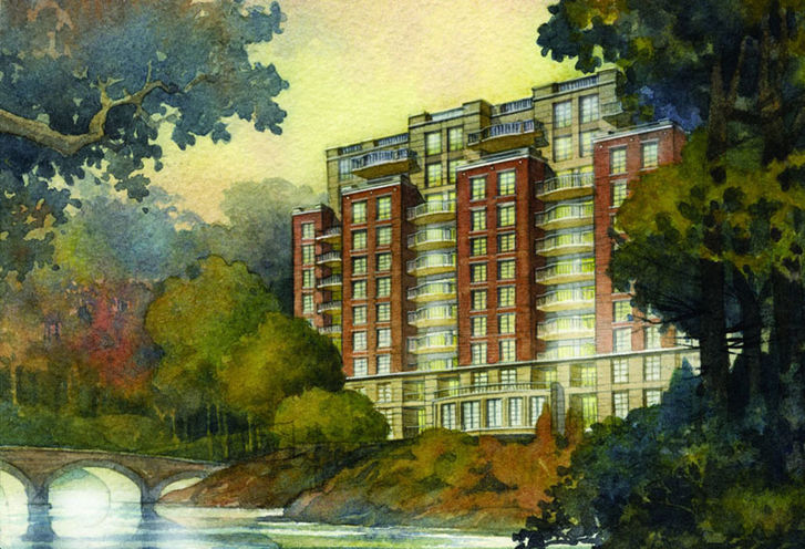 Riverhouse Condos At The Old Mill Toronto Condo By Lanterra