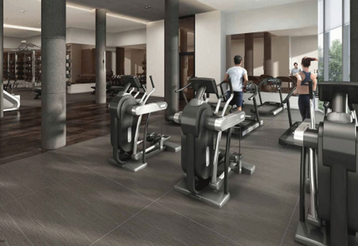 Fitness Centre at Riverview Condos 2
