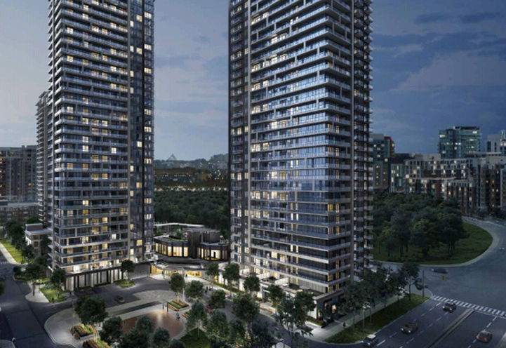 Riverview Condos - View of the Towers