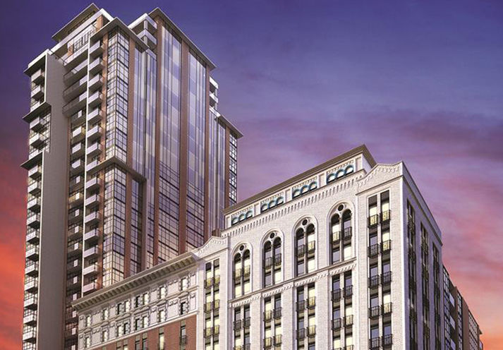 Residences of Royal Connaught Building Rendering