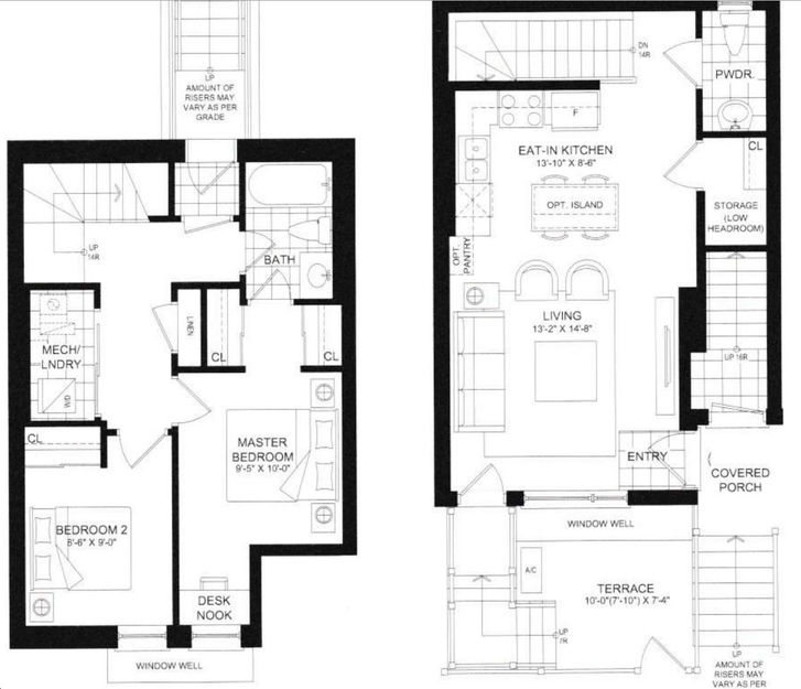 Royal York Urban Towns By Icon Homes Buckingham Floorplan