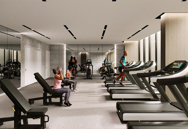 Fitness Centre at S2 Stonebrook Private Residences