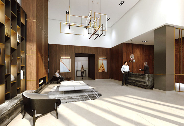 Lobby at S2 Stonebrook Private Residences
