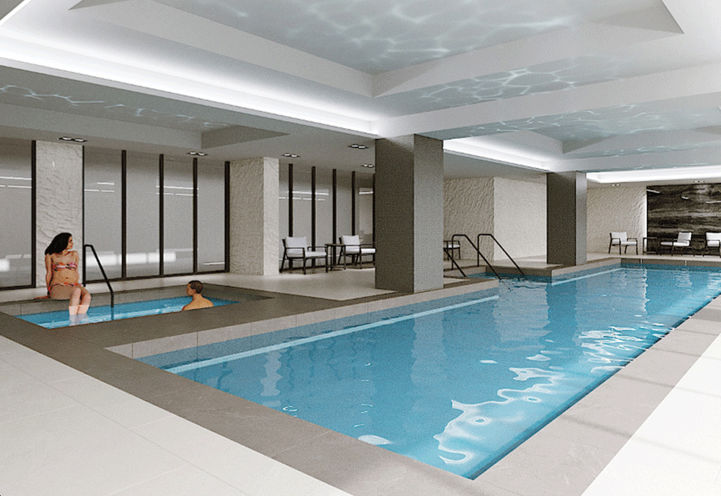 Pool at S2 Stonebrook Private Residences