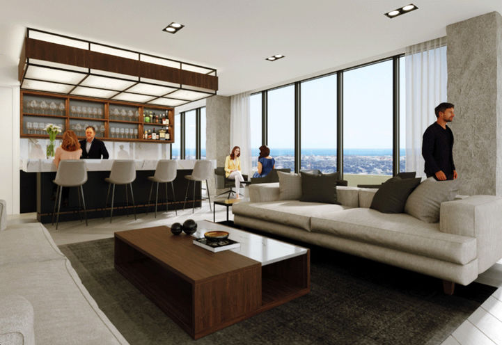 Sky Club Lounge at Stonebrook Private Residences