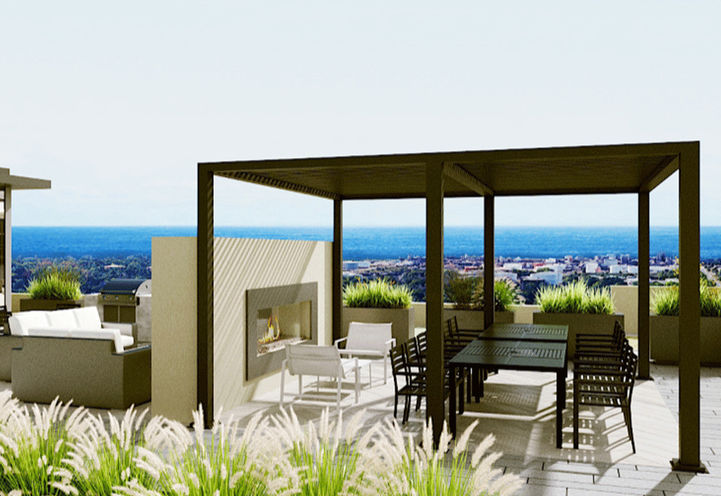 Sky Club Terrace at S2 Stonebrook Private Residences