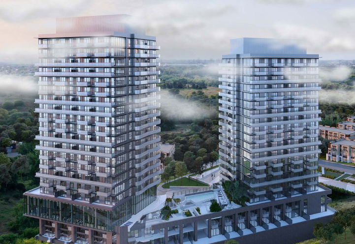 SXSW Condos at Islington Ave & Steeles Ave W