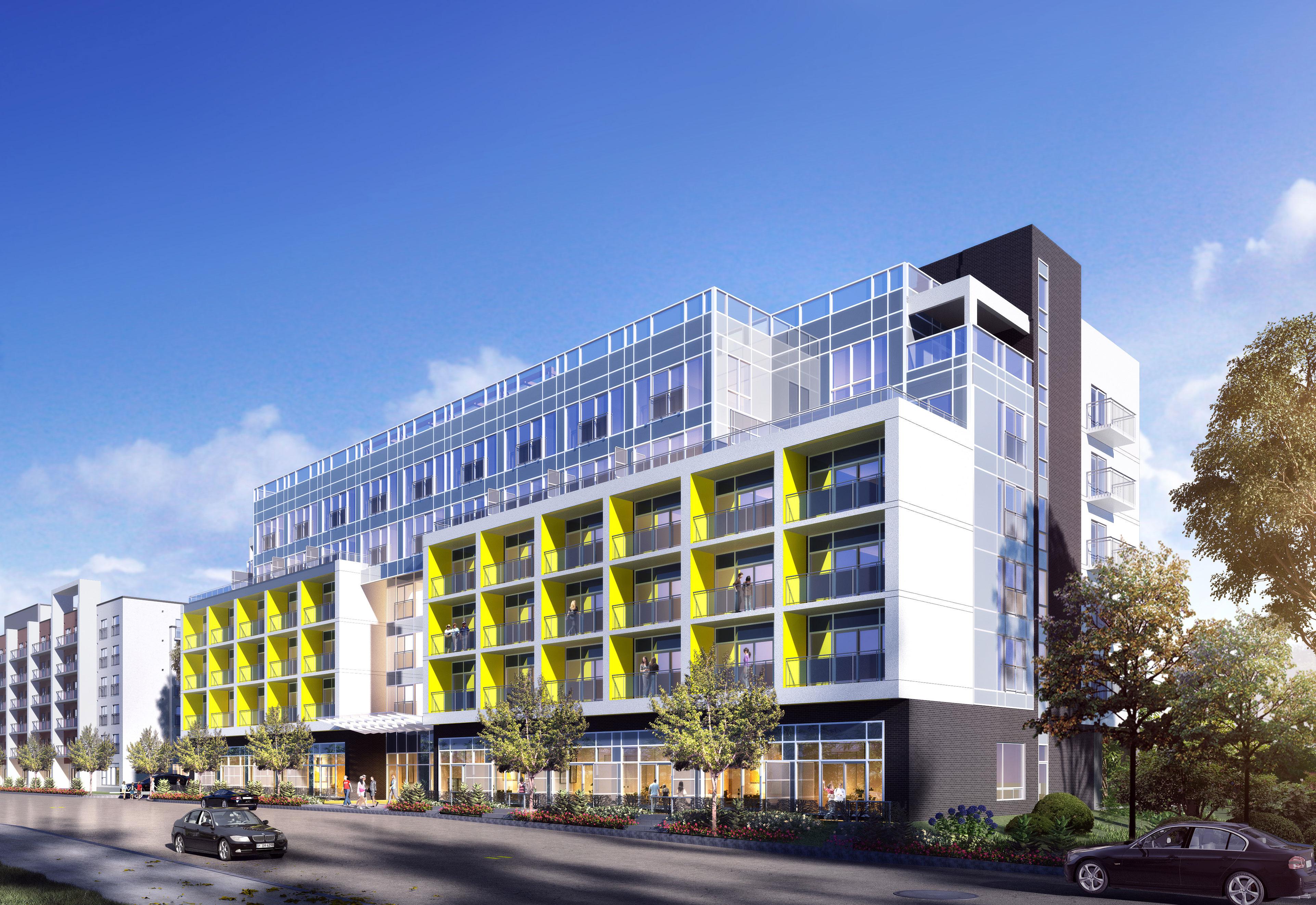 New Condos at University Ave W & Albert St, Waterloo