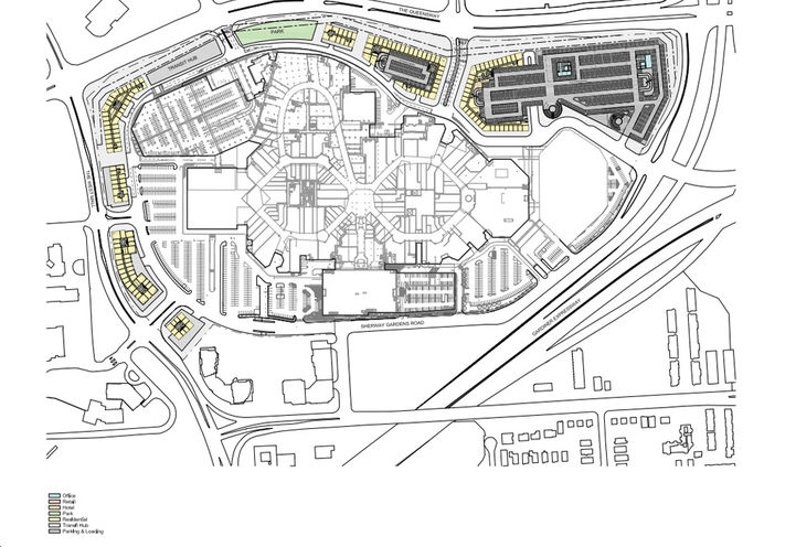 Potential Site Plan For Sherway Gardens Condos 4