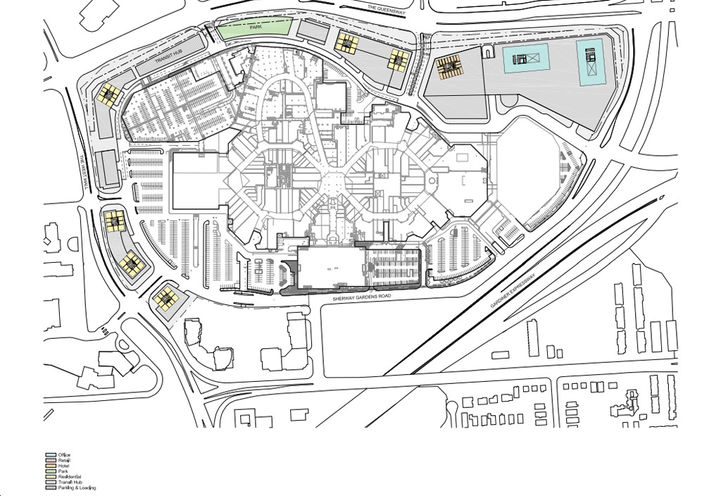 Site Plan For Sherway Gardens Condos 4