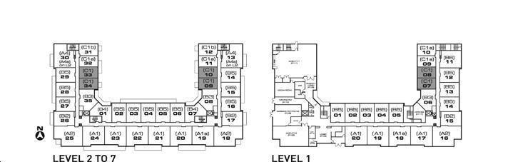 Showcase Lofts By Aragon C1 Floorplan 1 Bed 1 Bath