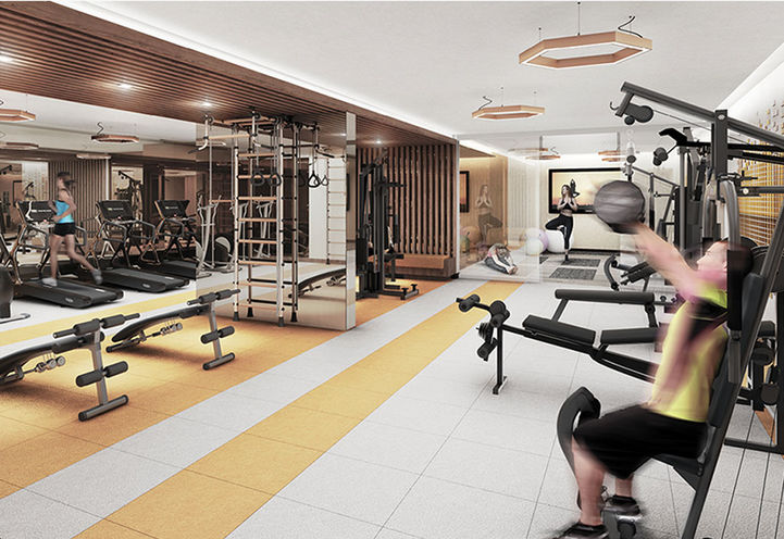 Fitness Centre at Sonic Condos