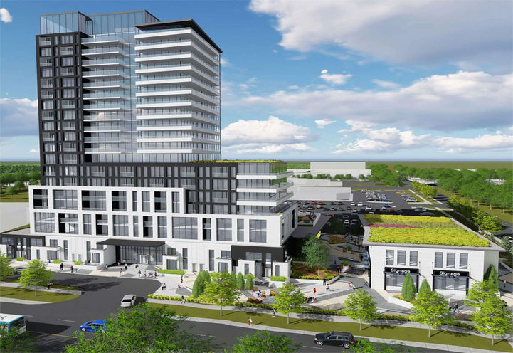Spring Farm Condos at Clark Ave Vaughan