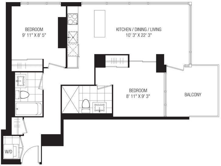 studio 2 on richmond 2 a floorplan v1 studio 2 on richmond by aspen