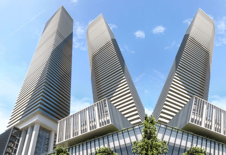 Sugar Wharf Residential Towers by Menkes Development