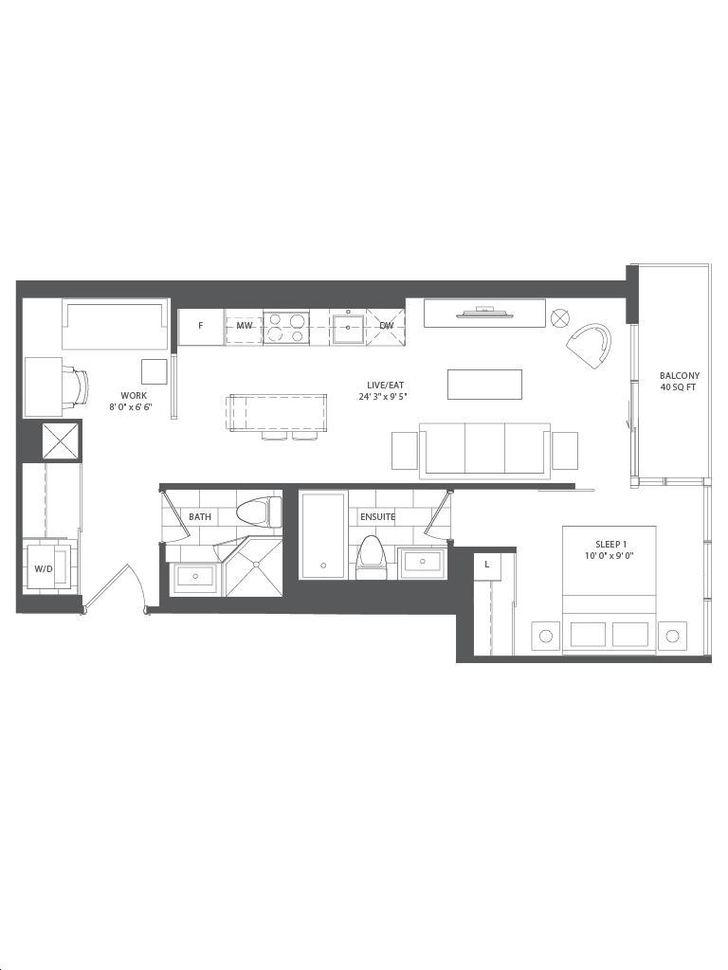 office layout floor plans blueprints 6