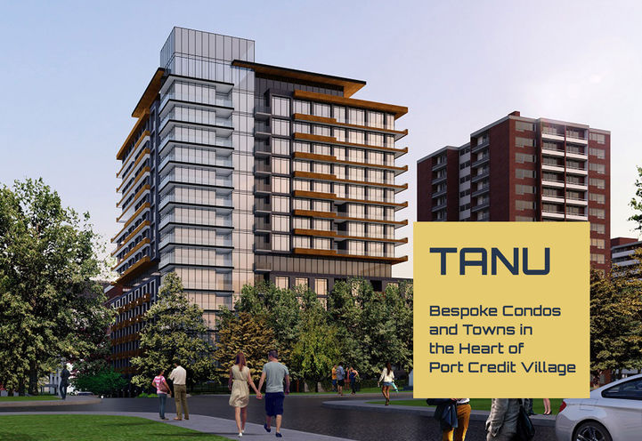 Bespoke Condos and Towns in the Heart of Port Credit Village