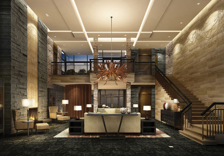 The 6th Angus Glen 2 Lobby