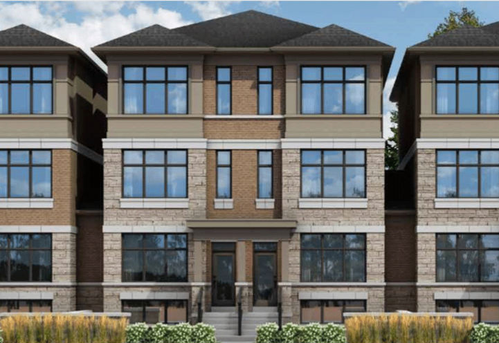 The Ascot Model Front Elevation at The Belmont Residences
