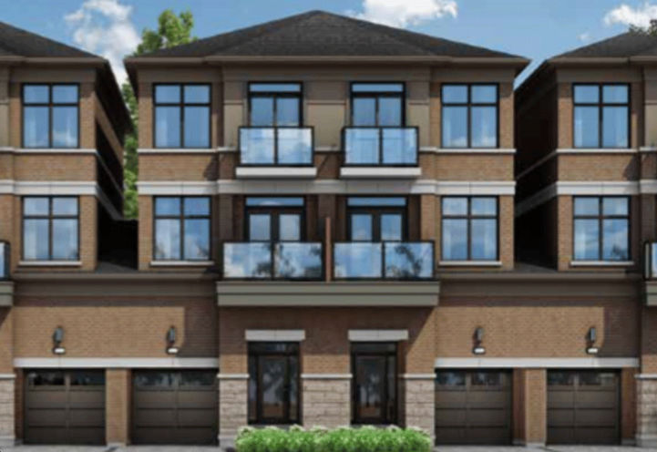 The Ascot Model Rear Elevation at The Belmont Residences