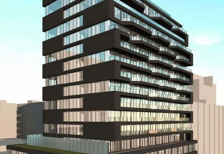 The Bread Company Condos, 193 McCaul St, Toronto, ON Early Rendering