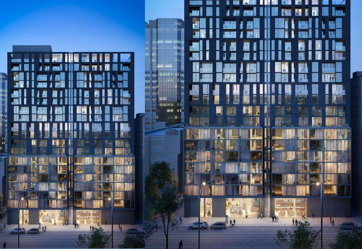 Tower View, The Bread Company Condos Early Rendering