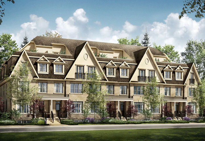 The Brook Townhomes by Genesis Homes