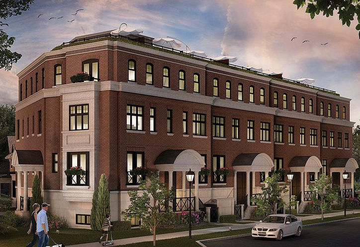 The Brownstones of Leaside Front