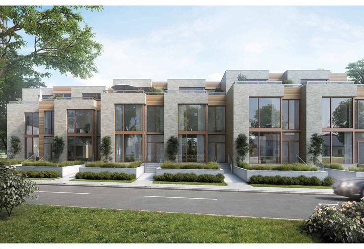 The Foxbar Collection at Blue Diamond Exterior Rendering